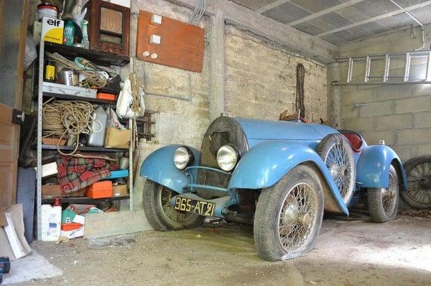 1925 Bugatti Type 13 Brescia barn find_3