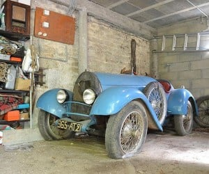 Rare 1925 Barn Find Bugatti Hits the Auction Block