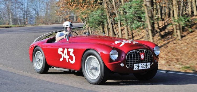 1952 Ferrari Goes for More Than $7 million
