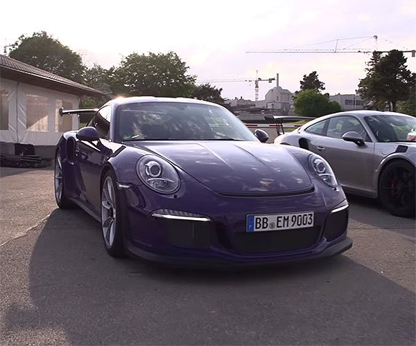 Drool at the 2016 Porsche GTS3 RS on Road and Track