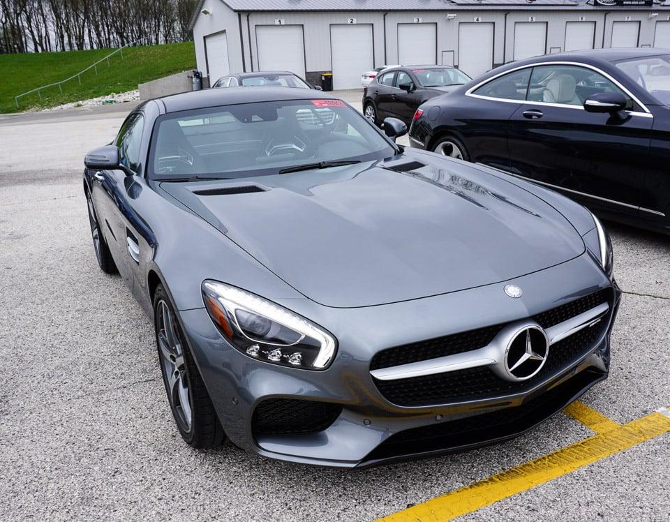 Carspotting: 2016 Mercedes AMG GT S