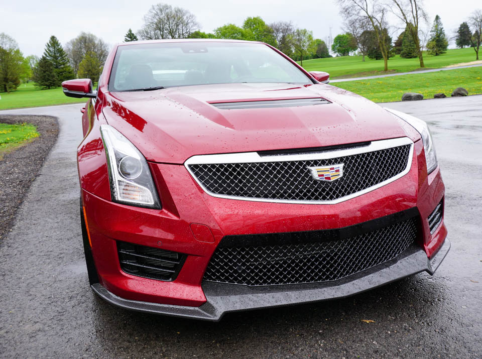 First Drive Review: 2016 Cadillac ATS-V