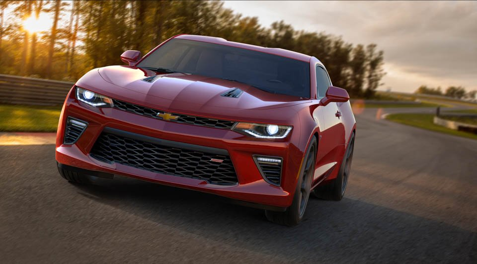 2016 Chevrolet Camaro Officially Revealed