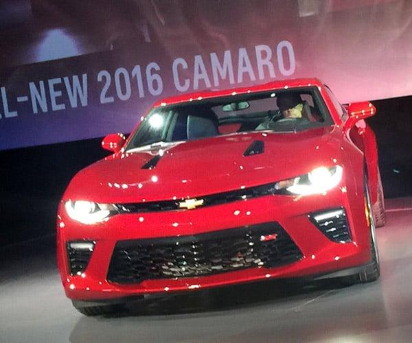2016 Chevrolet Camaro Officially Revealed