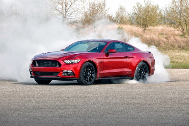 2016 Ford Mustang GT Equipped with the Black Accent Package