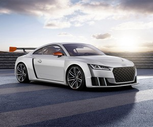 Audi TT Clubsport Turbo Concept to Wow at Wörthersee