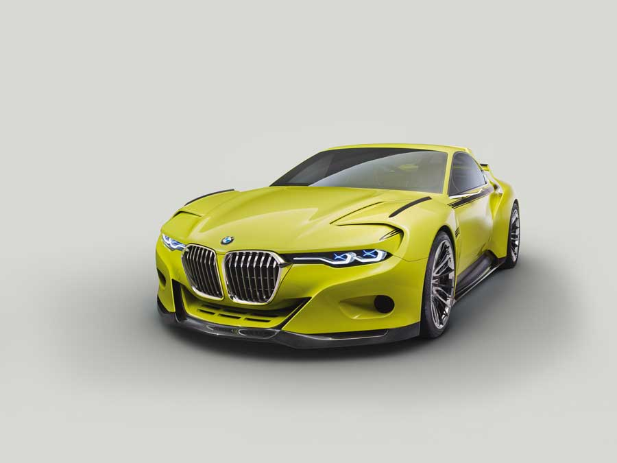 BMW Pays Hommage to the 3.0 CSL in Italy