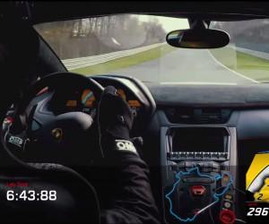 The Lambo Aventador SV Destroys the Nürburgring