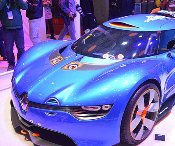 Renault Alpine Concept Tipped for 24 hours of Le Mans