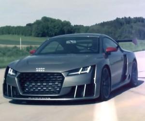Audi TT Clubsport Screams on Video