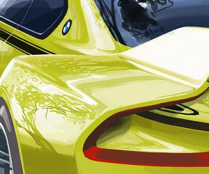 BMW Teases Sexy 3.0 CSL Tribute Concept