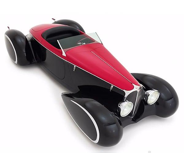 Delahaye Bugnaughty: A Modern Art-Deco Dream Car