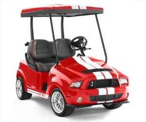 Caddyshack Golf Carts: Mini Mustangs, Cobras & Raptors