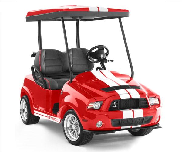Caddyshack Golf Carts: Mini Mustangs, Cobras & Raptors