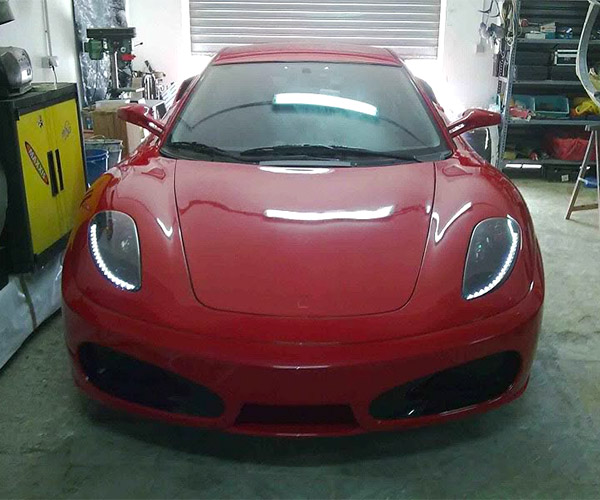 Ferrari F430? Nope, Toyota Celica.