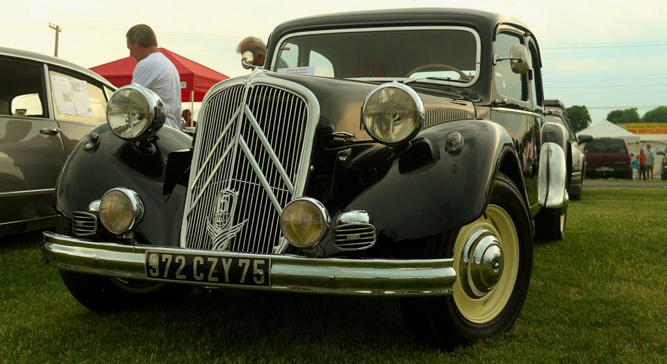 Carspotting: Citroën Traction Avant