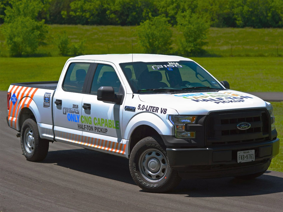 2016 Ford F-150 to Offer CNG/Propane V8 Option