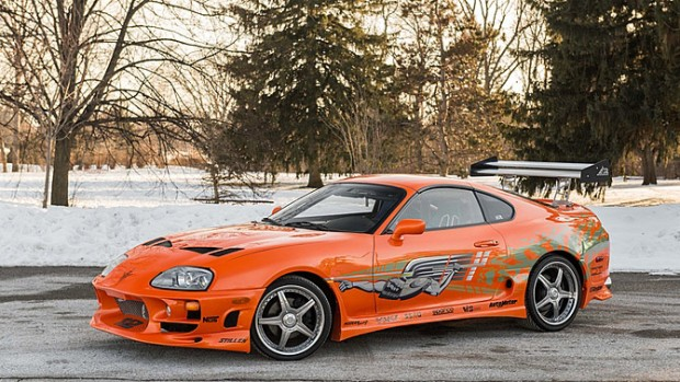 Fast and Furious Supra Fetches $185,000 at Auction