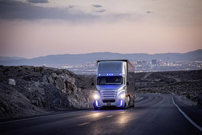 Freightliner Autonomous Trucks Land Utah License