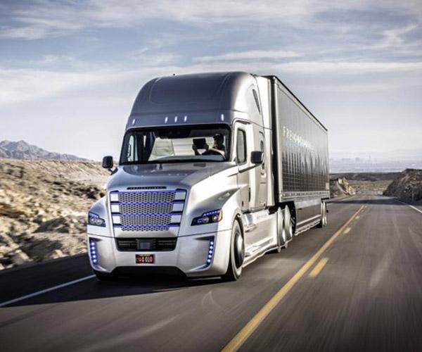 Freightliner Autonomous Trucks Land Utah License