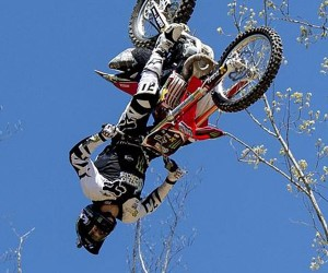 This Is The First Triple Motorcycle Back-Flip