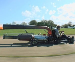 Colin Furze's Jet-Powered Go Kart