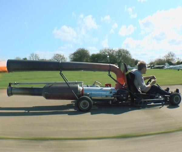 Colin Furze's Jet-Powered Go Kart