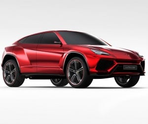 Lamborghini Urus SUV to Be Built in Italy