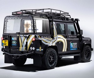A Land Rover Defender for the Rugby World Cup