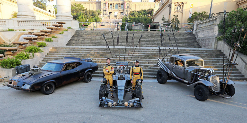 Lotus Put Maldonado in a Mad Max F1 Car