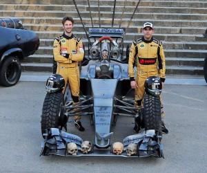 Lotus Put Maldonado in a Mad Max F1 Car