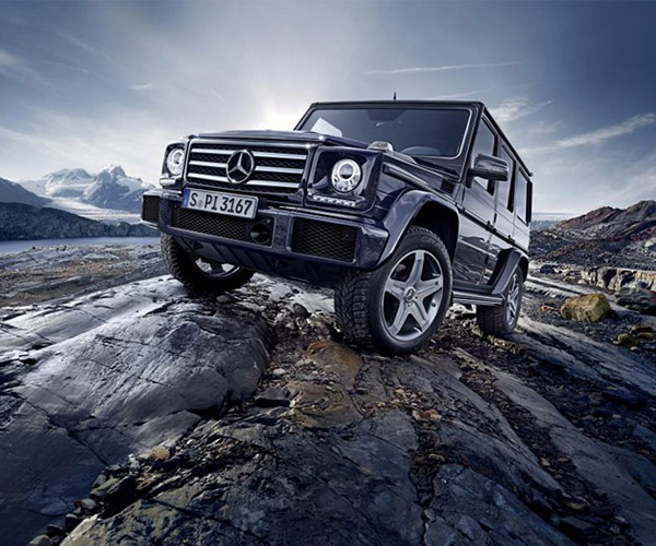 Mercedes G-Class Gets More Power and New Colors