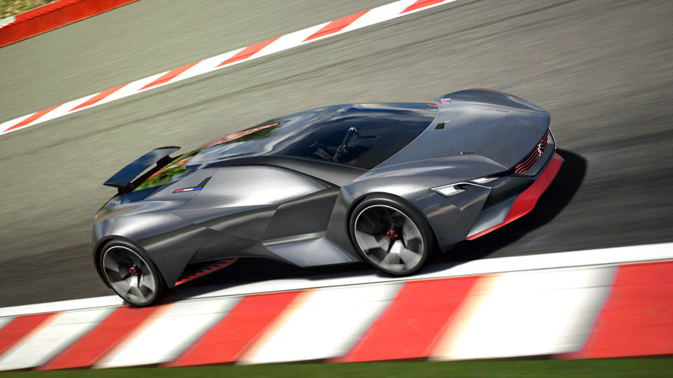 Peugeot's Vision Gran Turismo Concept Is Here