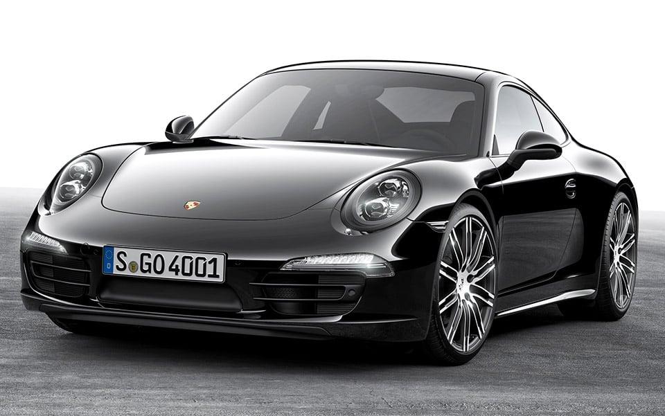 Porsche 911 Black Edition Makes Debut