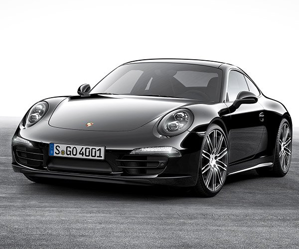 Porsche 911 Black Edition Makes Debut