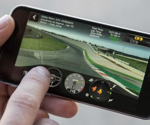 Porsche Track Precision App Records Video and Telemetry