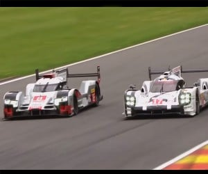LMP1 Race Battle: Porsche vs. Audi
