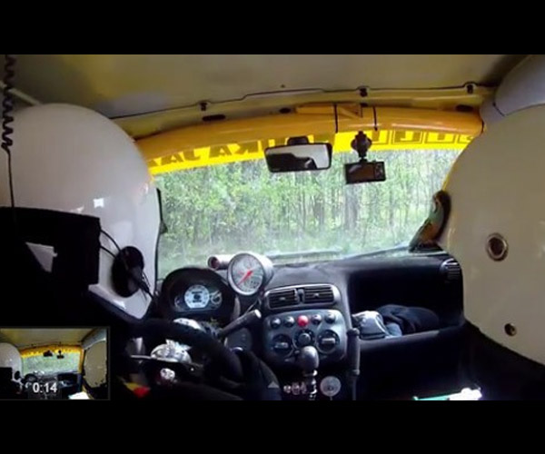 Rally Drivers Don't Need no Stinkin' Steering Wheel