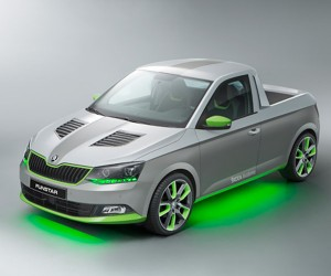 "ŠKODA Apprentices Design Quirky ""Funstar"" Pickup"