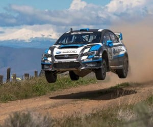 Subaru Rally Photos Artfully Presented