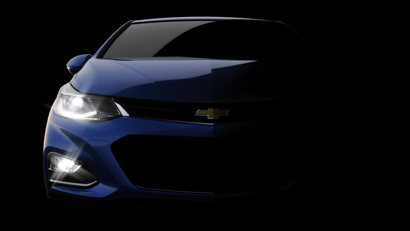 Chevy Teases 2016 Cruze