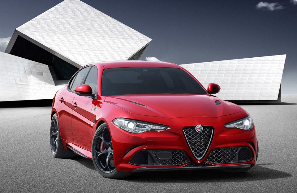 2016 Alfa Romeo Giulia Rocks up to 510hp