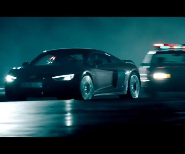 RDJ's Stunt Driver Talks up the Audi R8