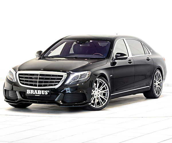 Brabus 900hp Mercedes-Maybach Luxury Sedan
