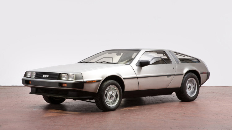 Mrs. DeLorean's Delorean DMC-12 for Sale