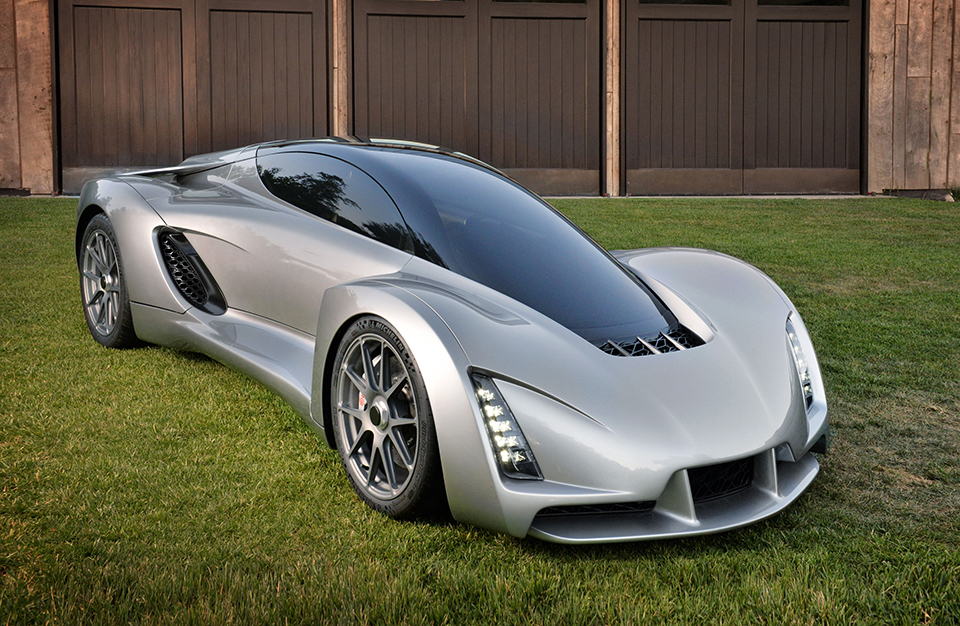 World's First 3D Printed Supercar Has Revolutionary Chassis