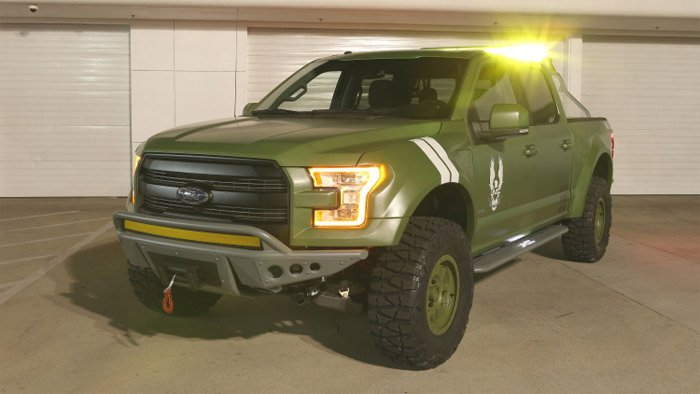 Ford F-150 Halo Sandcat is Master Chief's Daily Driver