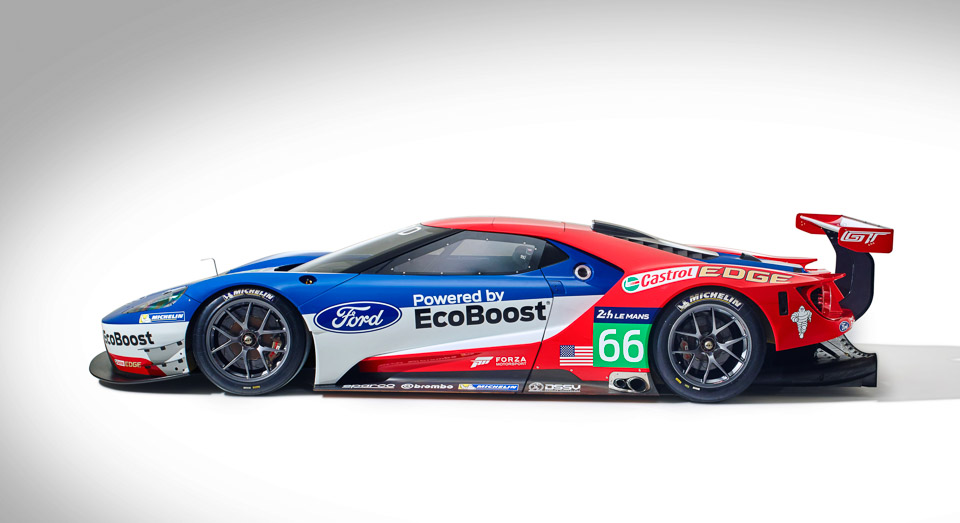 Ford Returns To Le Mans With New Gt