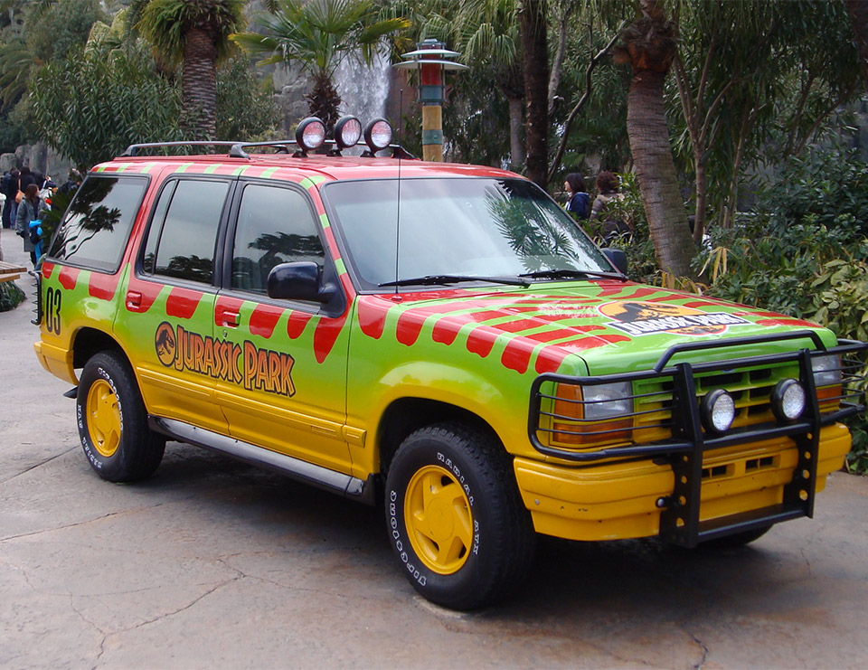 Ford Tames Raptors With Jurassic World Parody 95 Octane