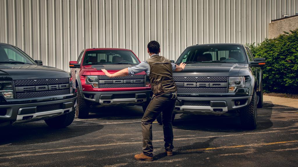 Ford Tames Raptors with Jurassic World Parody